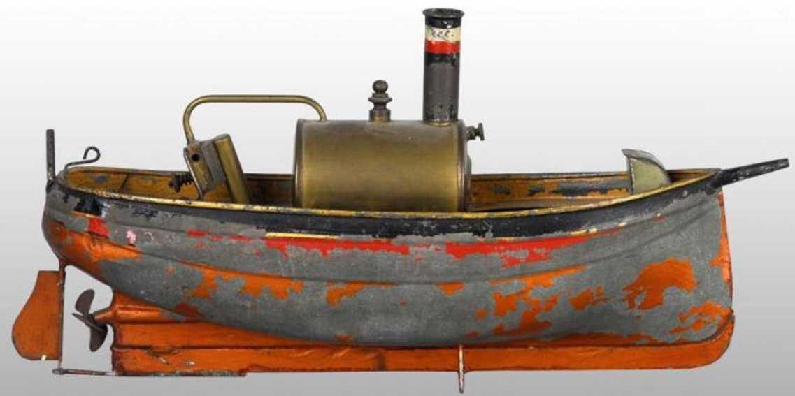 plank ernst blech spielzeug dampfschiff