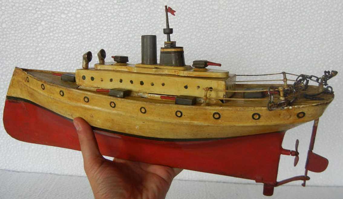 plank ernst blech spielzeug kriegsschiff