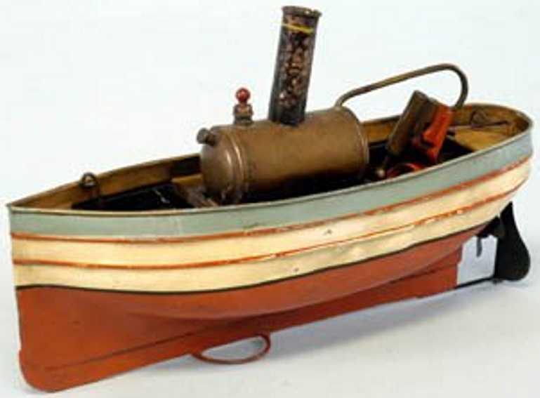 plank ernst 395/1 blech spielzeug dampfturbinenschiff
