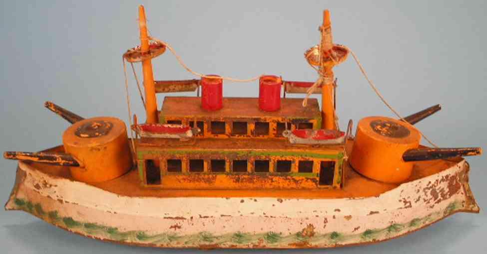schieble blech spielzeug kriegsschiff