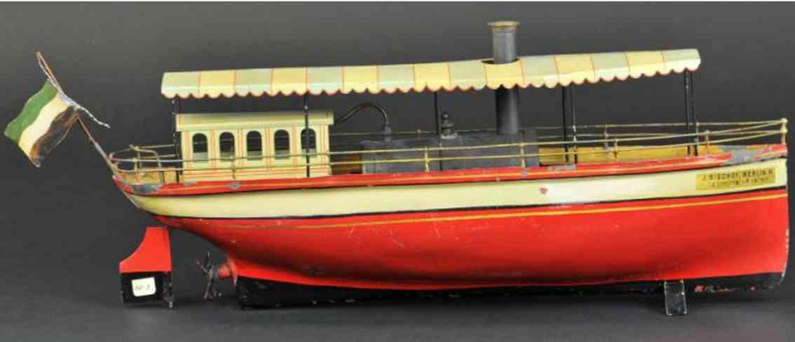 schoenner 811 blech flussschiff dampfbetrieben bladachin