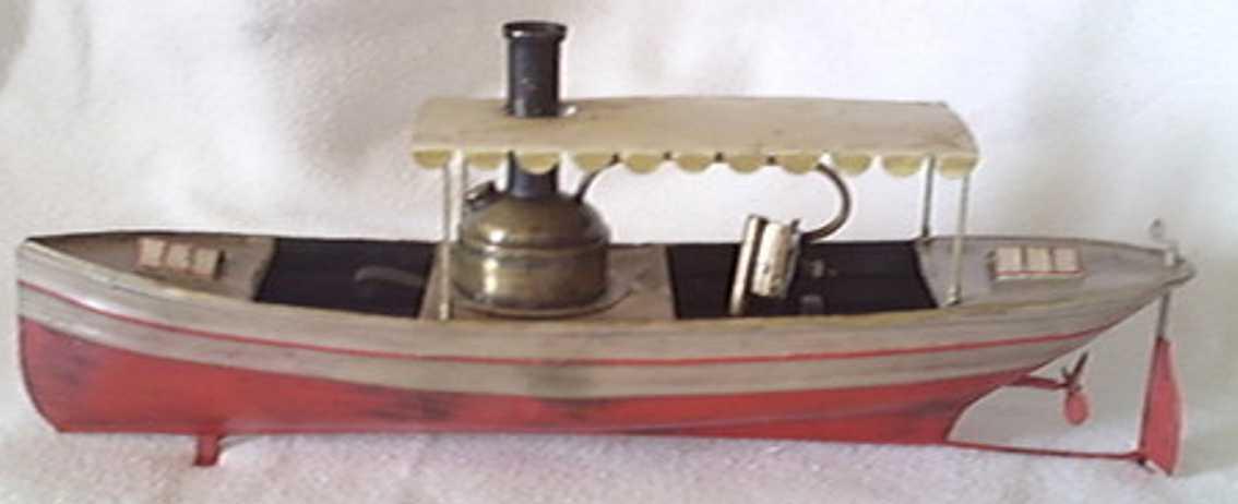 schoenner blech spielzeug echtdampf freizeitschiff