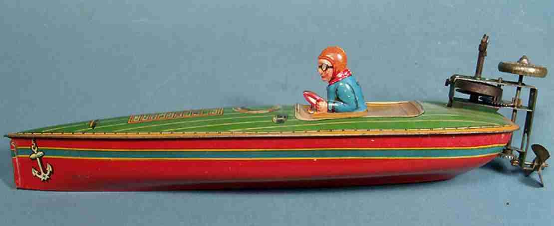 rennboot mit aussenbordmotor g.e 2200
