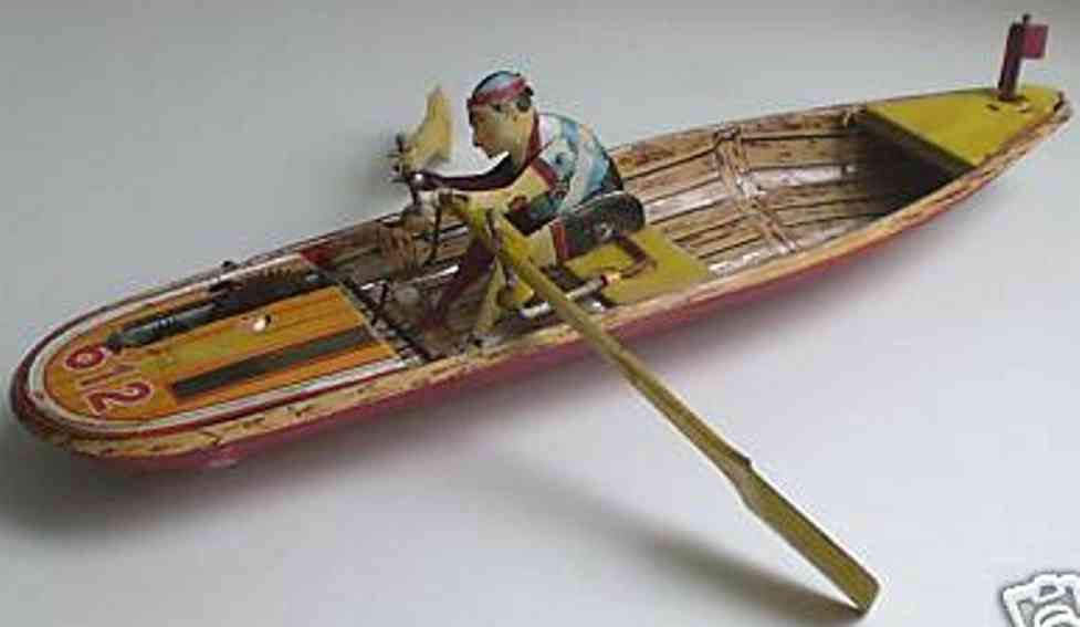 612 Rowboat with clockwork elevator amphibious