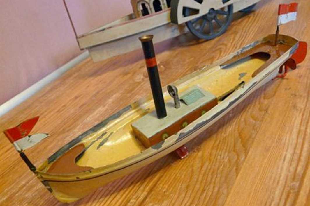 steam boat schoener ernst plank