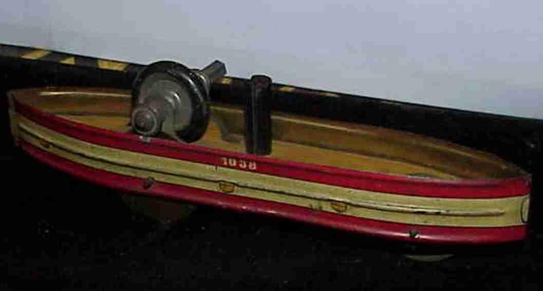 1038 Schaufelradboot mit Schwungradantrieb