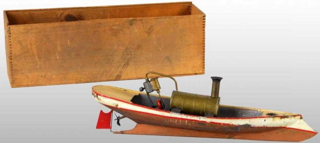 weeden blech spielzeug schiff dampfboot