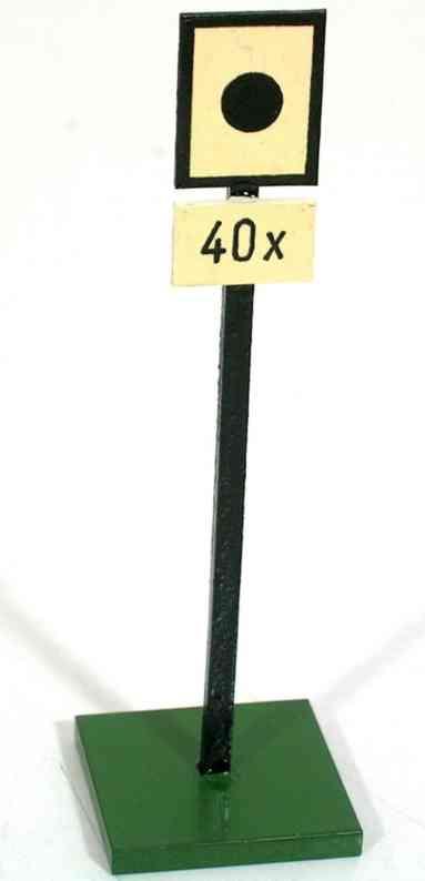 heidt klaus spielzeug hinweisschild holz schwarzer kreis 40x