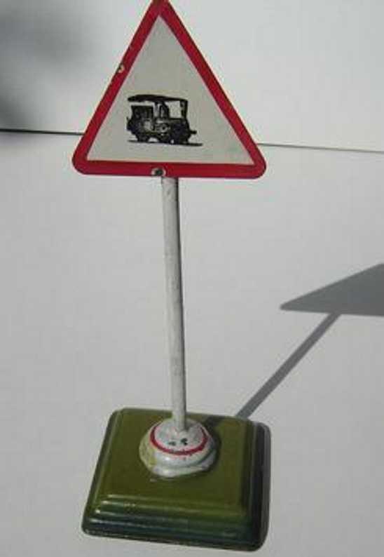 maerklin 2356 spielzeug eisenbahn schild warnschild für autos