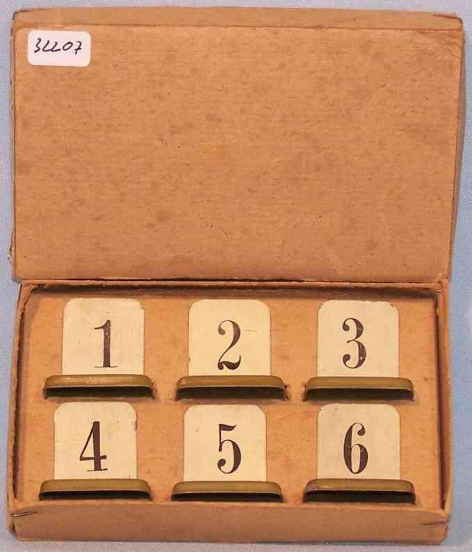 maerklin 2357 g/a eisenbahn nummernschildgarnitur weichen