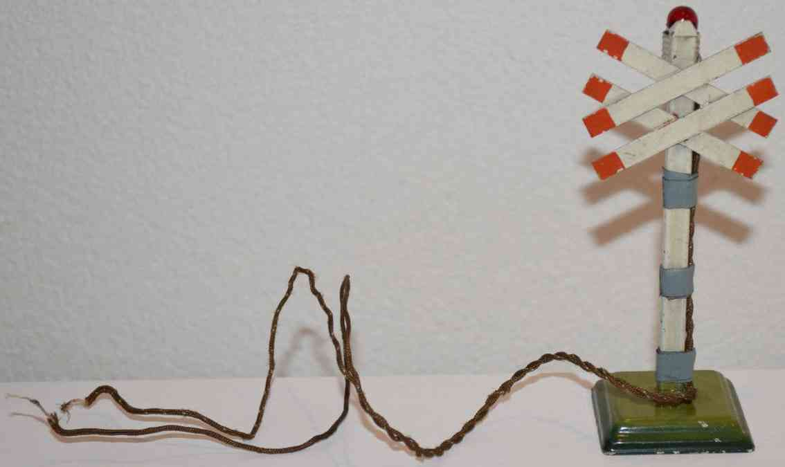 maerklin 2364 b warnkreuz bahnuebergang doppeltes andreaskreuz
