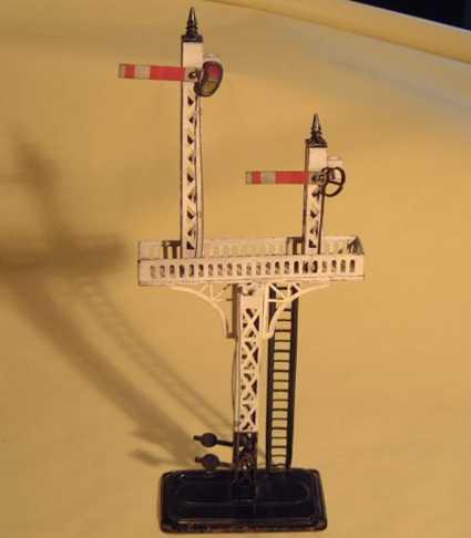 bing 10/625/2 spielzeug eisenbahn etagensignal 2 signale