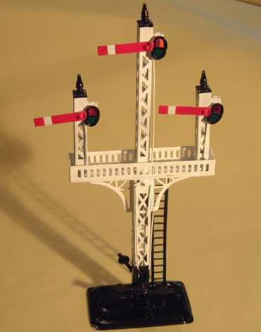 bing 10/640 railway toy signal floor signal english