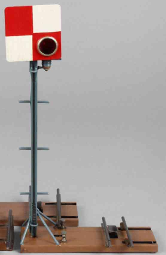 bing 10/666 railway toy french block signal