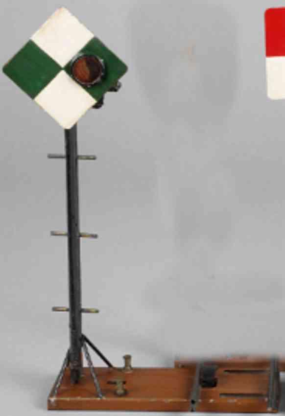 bing 12/558 railway toy french block signal