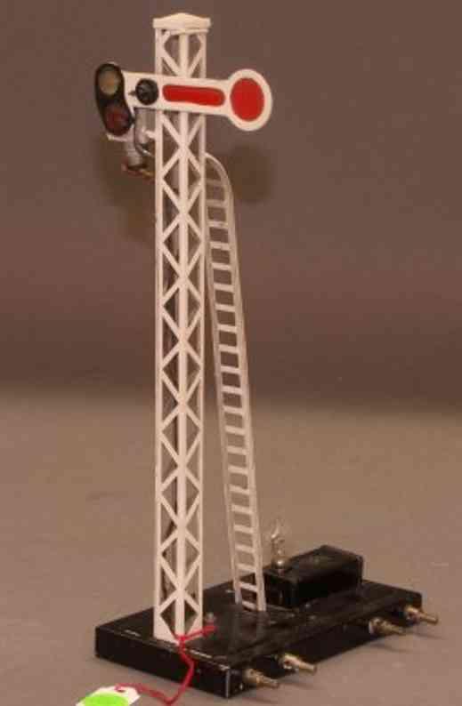 karl bub 2615/18 spielzeug eisenbahn hauptsignal gittermast