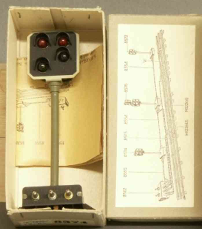 buco bucherer 8574 railway toy signal advance signal