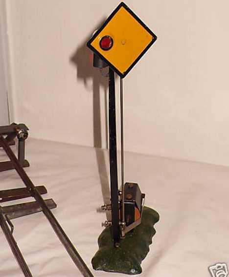 edobaud 2088 spielzeug eisenbahn signal signal, 20 volt betrieb