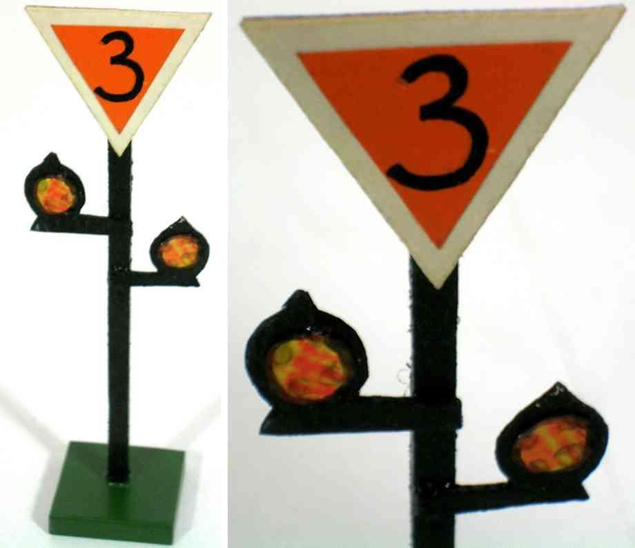 heidt klaus spielzeug eisenbahn dreieckiges schild 3