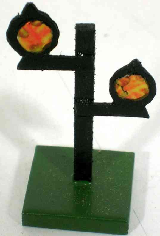 heidt klaus railway toy wooden double signal