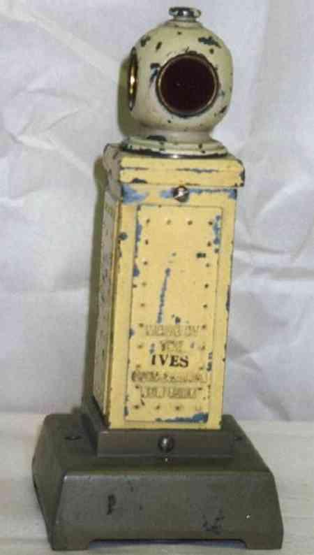 ives 1881 spielzeug eisenbahn signal vekehrssignal, eine modifizierte lione nr. 83