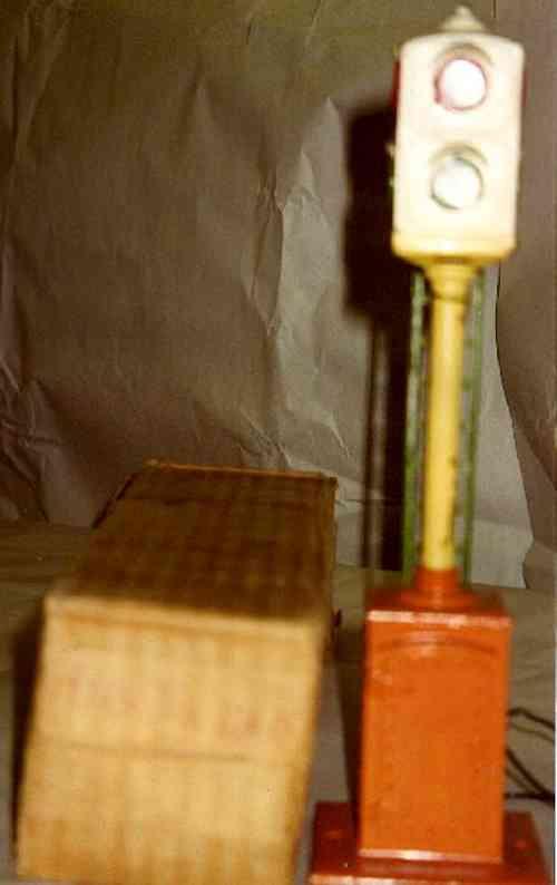 ives 1908 spielzeug eisenbahn signal signal baugleich dem von lionle nr. 78
