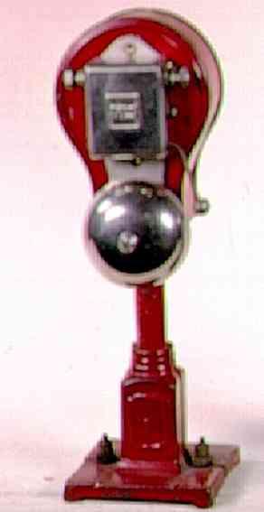 ives 333 spielzeug eisenbahn signal mit lionel glocke