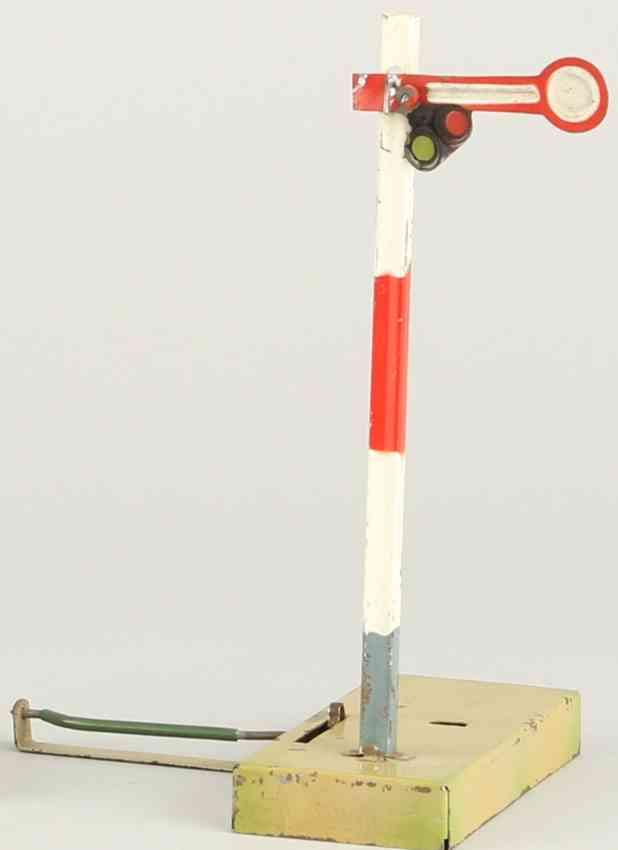 kibri 1/72/10 1935 railway toy main signal one wing