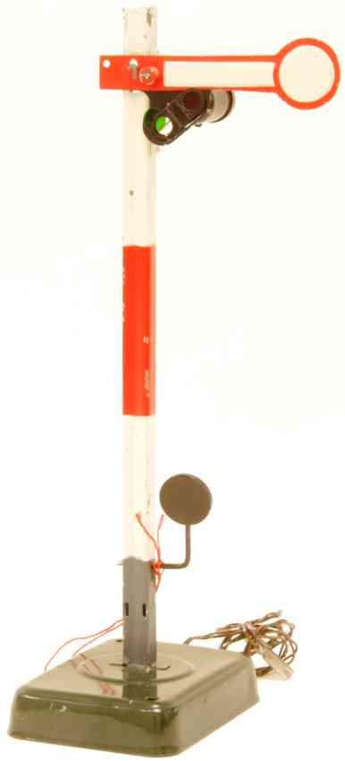 kibri 72/10 1937 railway toy main signal one wing