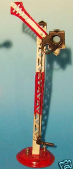 kraus-fandor 2008/18 spielzeug eisenbahn signal fluegelhauptsignal laterne  spur 1