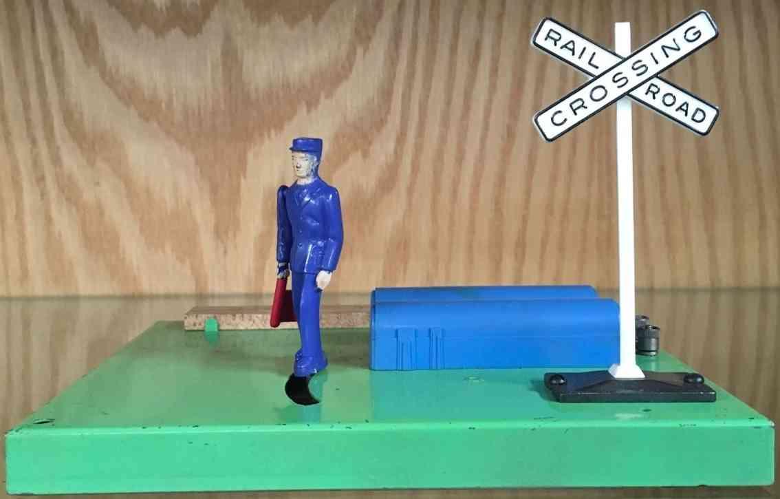 lionel 1047 spielzeug eisenbahn weichensteller flagge schild