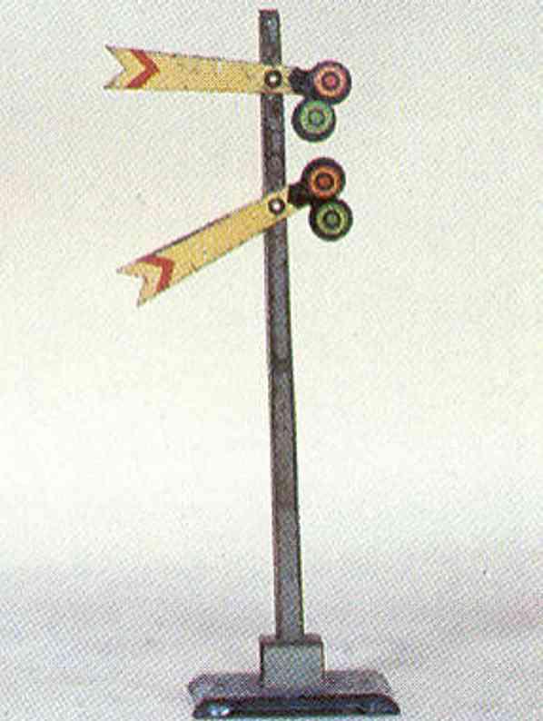 lionel 1572 spielzeug eisenbahn signal mit zwei armen