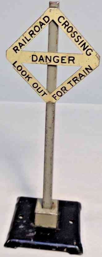 lionel 1573 spielzeug eisenbahn warnsignal railraod crossing