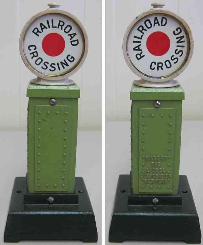 lionel 87 railway toy crossing signal