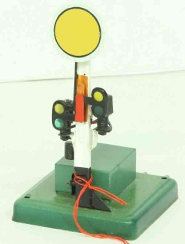 maerklin 13954 spielzeug eisenbahn signal scheiben-vorsignal beleuchtung