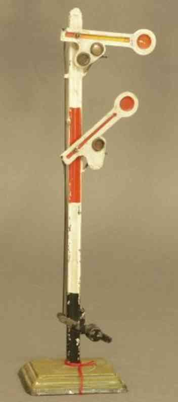 maerklin 2338/1 spielzeug eisenbahn 2-fluegeliges hauptsignal