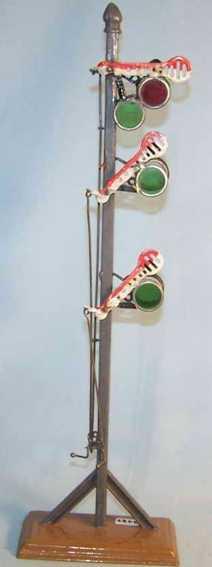 maerklin spielzeug eisenbahn signal drei verstellbare signalfluegel
