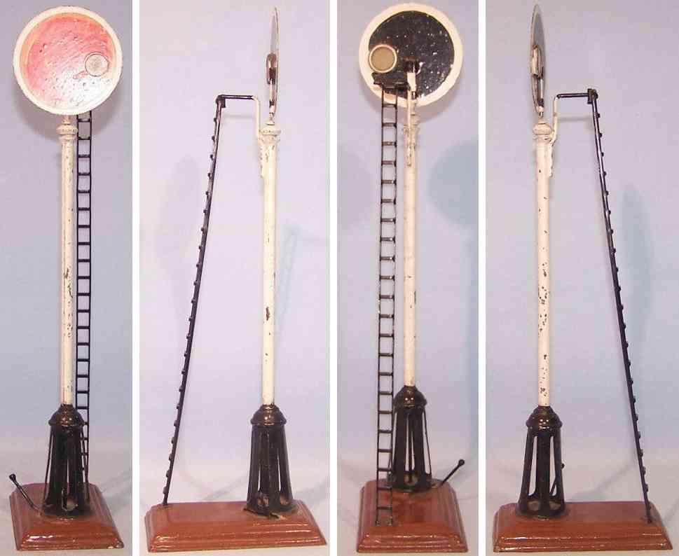 maerklin spielzeug eisenbahn signal mit leiter
