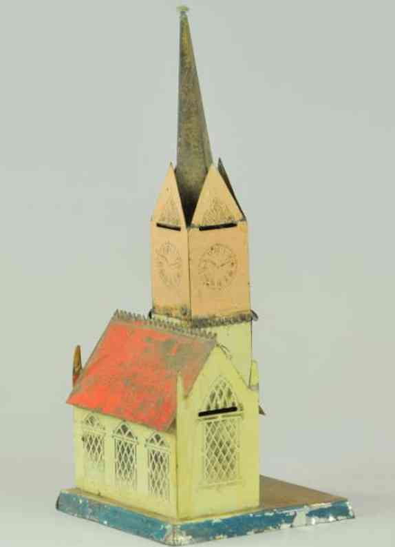 Brown George Kirche als Spardose