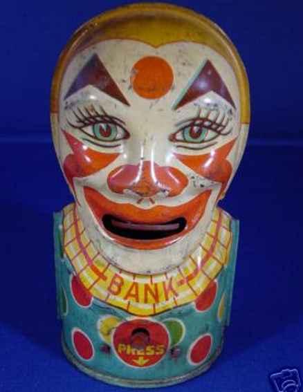 Chein Co. 27 Clown als Spardose
