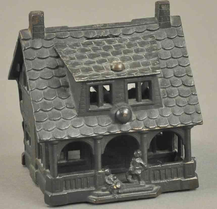 grey iron casting company spielzeug gusseisen spardose bungalow landhaus kupfer
