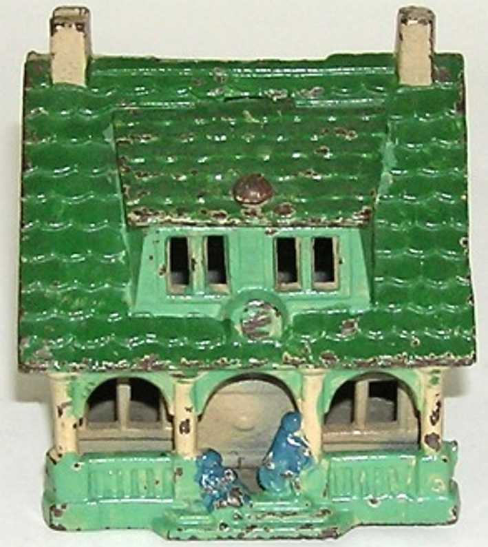 grey iron casting company cast iron toy cottage with porch