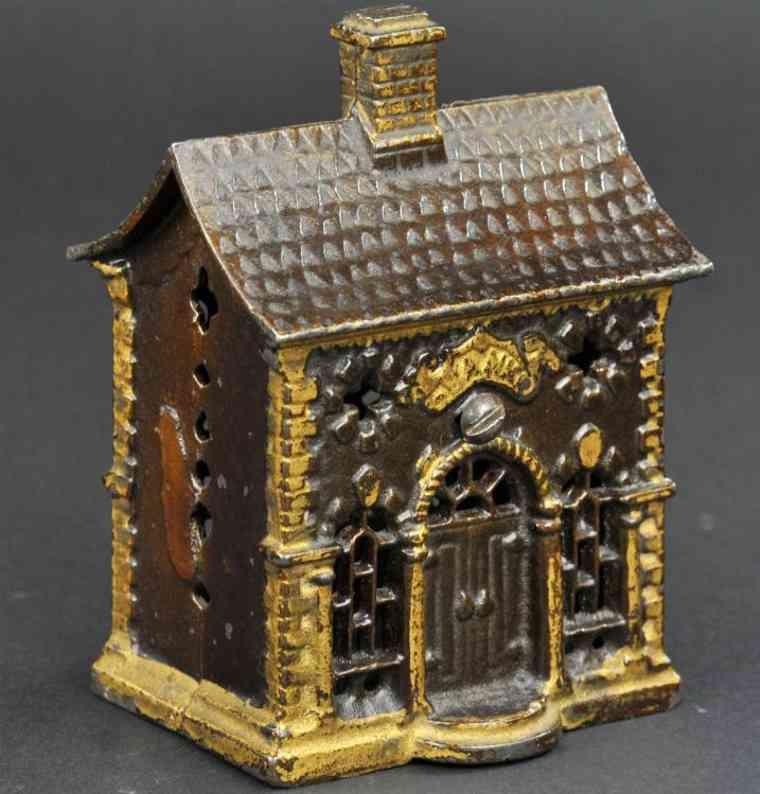 grey iron casting company gusseisen spardose haus gold