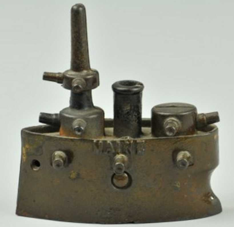 grey iron casting company gusseisen kriegsschiff als spardose