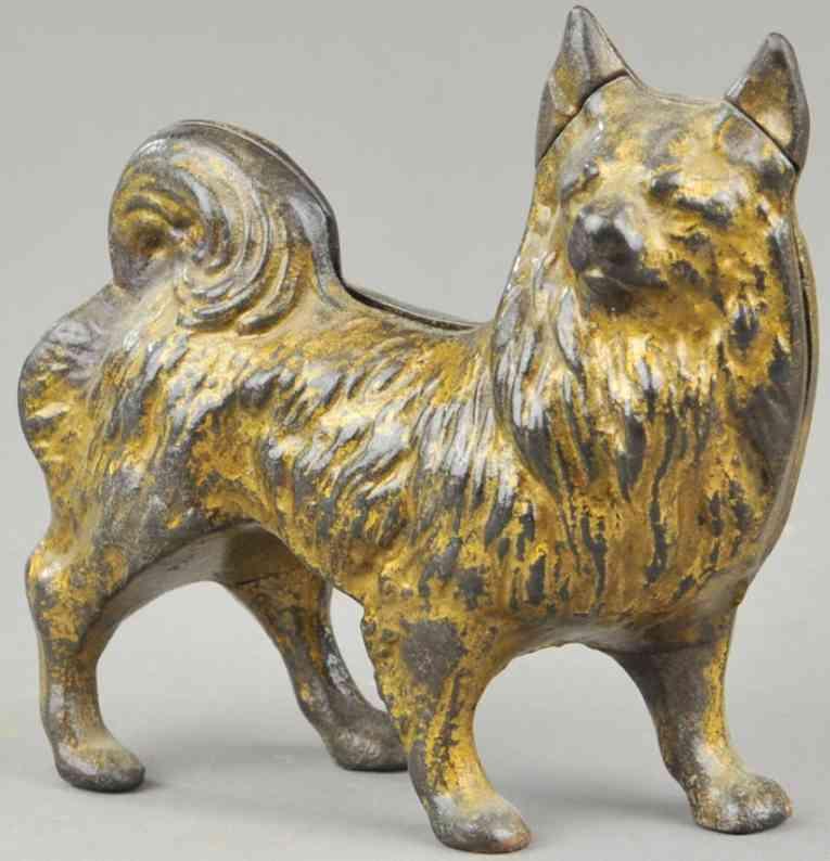 grey iron casting company gusseisen spitz als spardose gold
