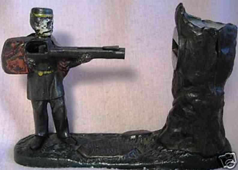 harper co john spielzeug gusseisen spardose gewehr