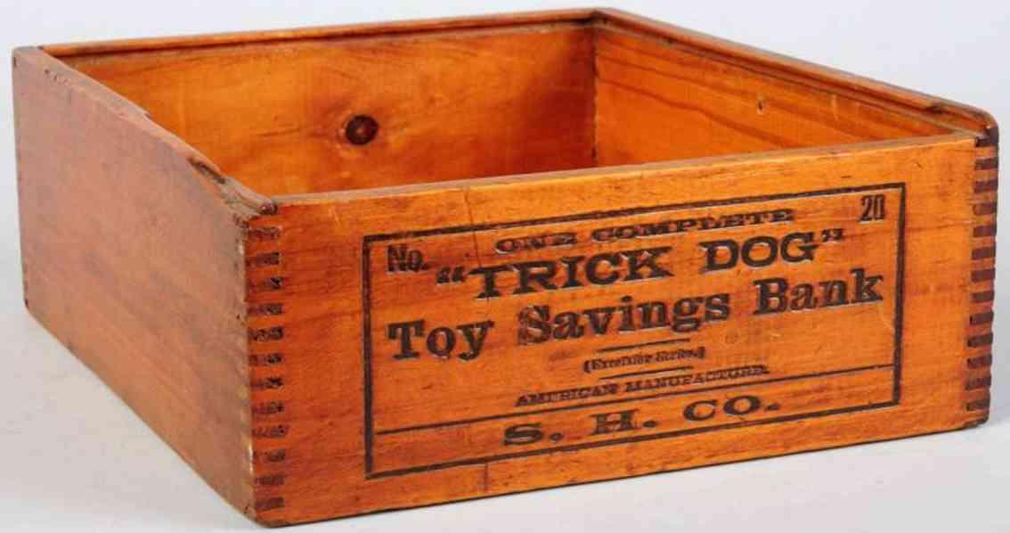 shepard hardware co. 20 spielzeug gusseisen karton für trick dog