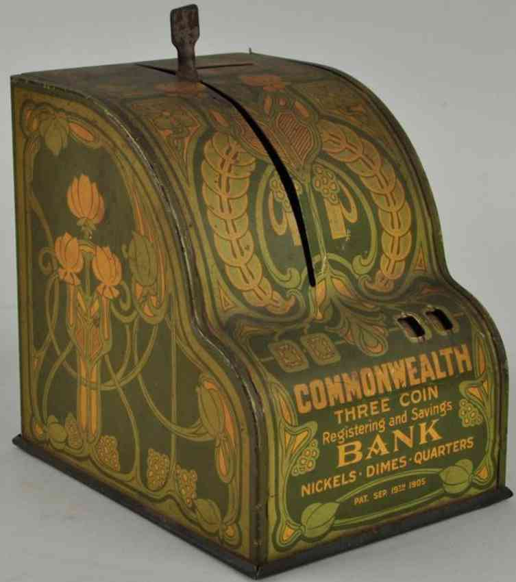 shonk works american can co blech spielzeug commonwealth-kasse als spardose