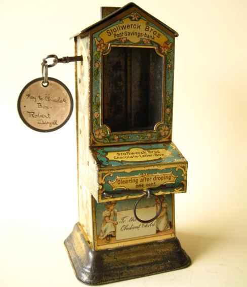 Stollwerck Schokoladenautomat Postmann
