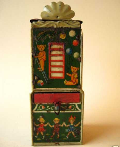 Schokoladenbank Schokoladenspardose Schokoladenautomat